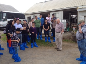 Fulbright Farmers in boots