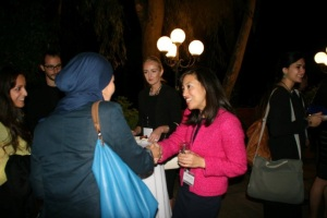 Fulbright Visiting Scholars meet each other for the first time