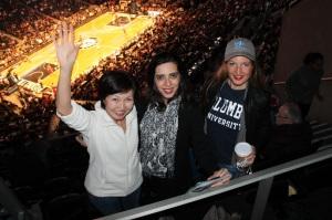 (left to right) Farida Ryskulueva from Kyrgyzstan, Zainab Riaz from Pakistan & Rebeca Adami from Sweden