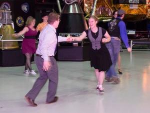 Scholars dance the Charleston