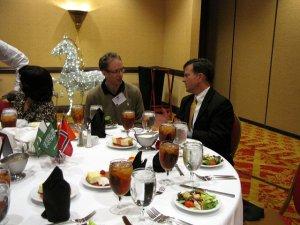 Senator Arthur Orr chats with Scholars.
